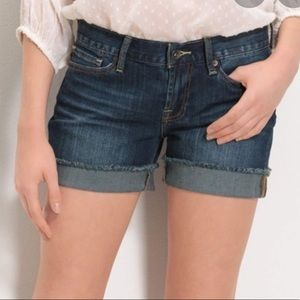 Lucky Brand Abbey Denim Jean Shorts 0/25